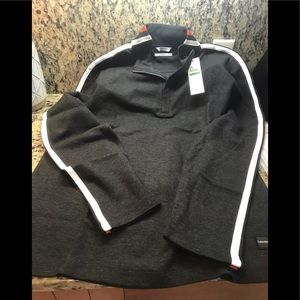 CALVIN KLEIN WEEKEND LARGE RIBBED JERSEY NEW